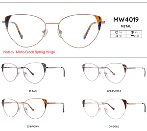 Metal frames for glasses MW4019