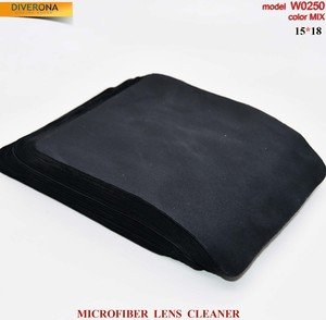 High-density microfiber napkin for glasses lens cleaning W0250, 15*18 cm (price for a pack)