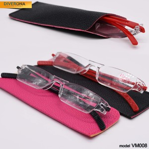 VIZZINI lecturer monoblock glasses, with or without case 连体老花 VM008