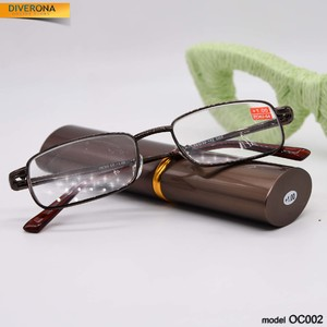 Eyeglasses in the big case tube lecturer pen Ochi OC002
