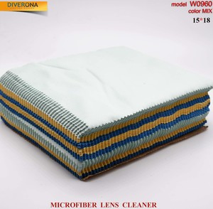 High-density microfiber napkin for glasses lens cleaning W0960, 15*18 cm (price for a pack)