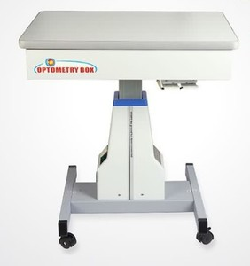 Motorized table with a lifting mechanism and with a box for a trial lenses set WZ-3ADT tabletop 660*450mm