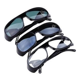 Safety glasses with glass lenses and protective shields for welders 2010-1