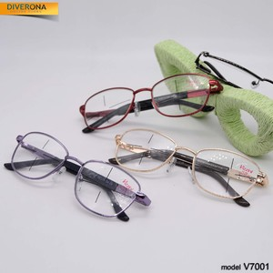 Eyeglasses for women on metal frames Vizzini V7001 dioptries to +5.00 and -8,00