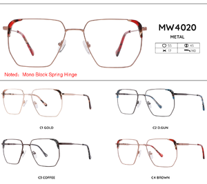 Metal frames for glasses MW4020