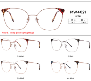 Metal frames for glasses MW4021