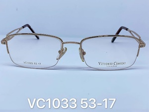 Nylor medical metal frames for glasses VITTORIO CORSINI VC1033