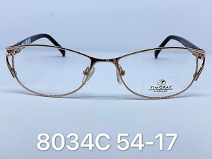 Metal frames for glasses Timgray 8034C