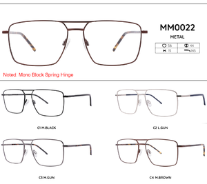 Metal frames for glasses MM0022