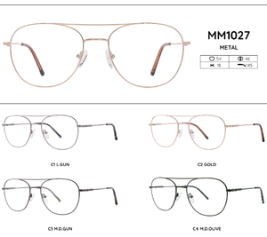 Metal frames for glasses MM1027