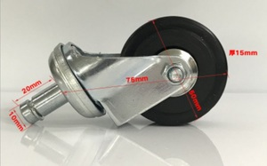 Wheels for roller stool 铁轮 Ø50 mm
