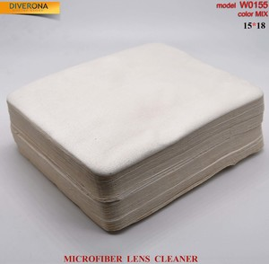 High-density microfiber napkin for glasses lens cleaning W0155, 15*18 cm (price for a pack)