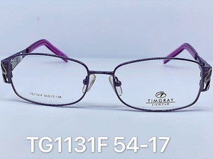 Metal frames for glasses Timgray TG1131F