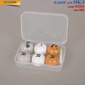 Travel kit for soft contact lenses (Kits for contact lenses) K-XXX