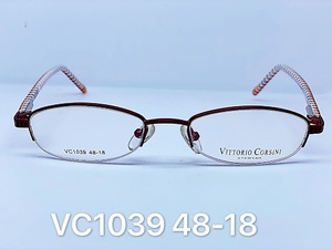 Nylor medical metal frames for glasses VITTORIO CORSINI VC1039
