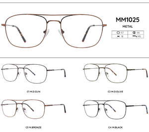 Metal frames for glasses MM1025
