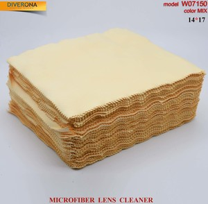 High-density microfiber napkin for glasses lens cleaning W07150, 14*17 cm (price for a pack)