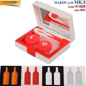 Travel kit for soft contact lenses (Kits for contact lenses) K-1606