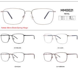 Metal frames for glasses MM0021