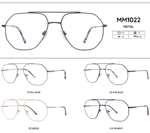 Metal frames for glasses MM1022