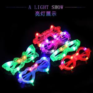 Neon light LED glasses 0096