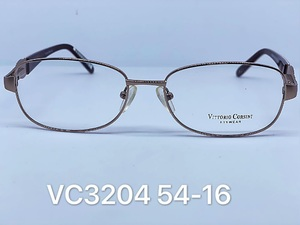 Medical metal frames for glasses VITTORIO CORSINI VC3204