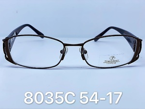 Metal frames for glasses Timgray 8035C