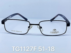 Metal frames for glasses Timgray TG1127F