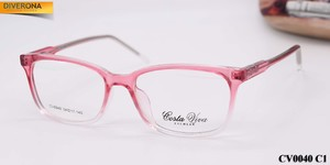 Plastic eyeglass frames with flex hinges Costa Viva CV0040