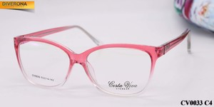 Plastic eyeglass frames with flex hinges Costa Viva CV0033
