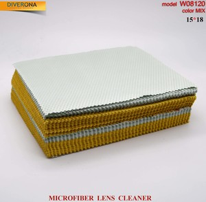 High-density microfiber napkin for glasses lens cleaning W08120, 15*18 cm (price for a pack)