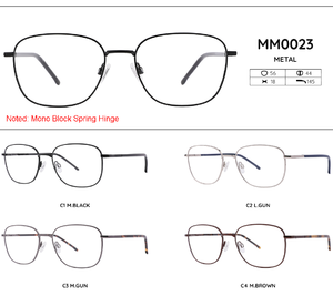 Metal frames for glasses MM0023