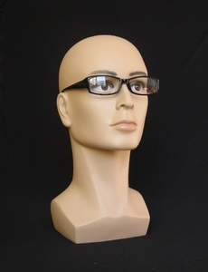 Promotional mannequin on swivel stand for optical shop decoration