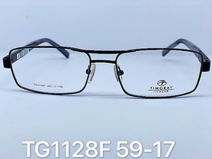 Metal frames for glasses Timgray TG1128F
