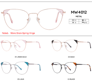 Metal frames for glasses MW4012