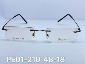 Rimless metal frames for glasses Paradise PE01-210
