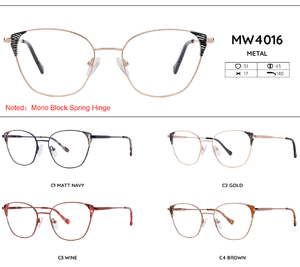 Metal frames for glasses MW4016
