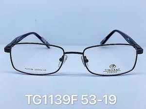 Metal frames for glasses Timgray TG1139F