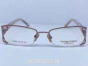 Nylor medical metal frames for glasses VITTORIO CORSINI VC0826