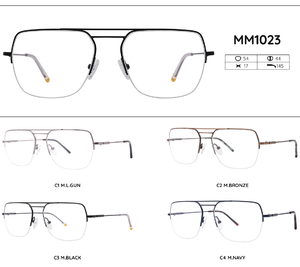 Metal frames for glasses MM1023