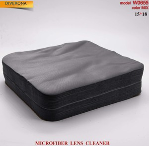 High-density microfiber napkin for glasses lens cleaning W0655, 15*18 cm (price for a pack)