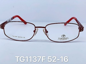 Metal frames for glasses Timgray TG1137F