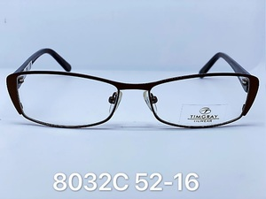 Metal frames for glasses Timgray 8032C