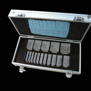 Set of optometric prisms in an aluminum case PB16
