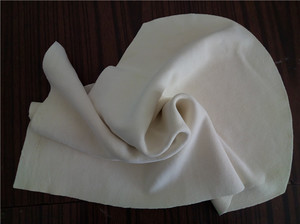 Suede napkin individually wrapped