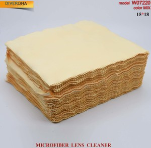 High-density microfiber napkin for glasses lens cleaning W07220, 15*18 cm (price for a pack)