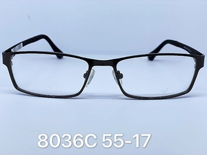 Metal frames for glasses Timgray 8036C