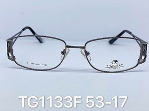 Metal frames for glasses Timgray TG1133F