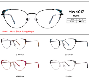 Metal frames for glasses MW4017