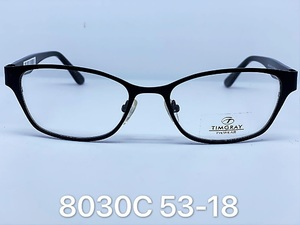 Metal frames for glasses Timgray 8030C